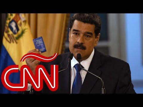"""Nicolás Maduro dice que la ayuda humanitaria a Venezuela es un """"regalo podrido"""""""