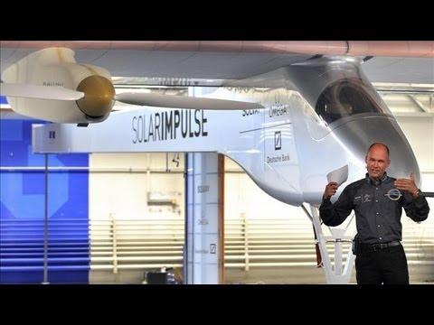 Swiss Pilots Circumnavigate Globe in Solar Plane