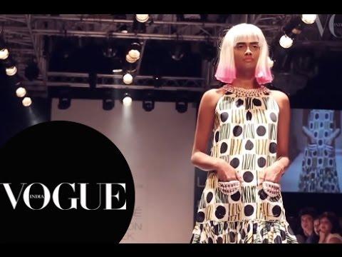 Emerging Designers At Lakme Fashion Week Winter Festive 14 Vogue India Youtube