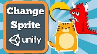 Unity Tutorial How To Change Gameobjects Sprite In Sprite Renderer Component. Simple C# Script.
