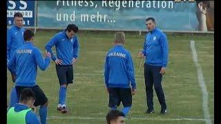 Збірна України розпочала підготовку до матчу з Хорватією