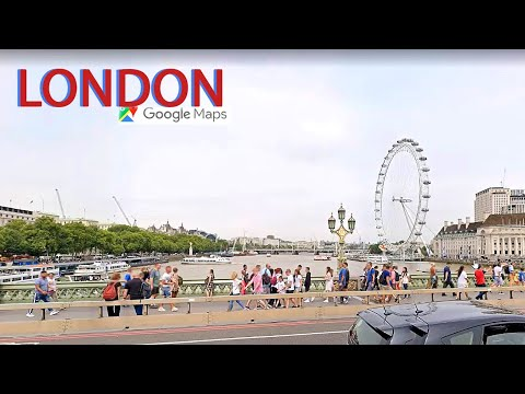 TRAVEL THE WORLD WHILE IN ISOLATION - Google Maps London