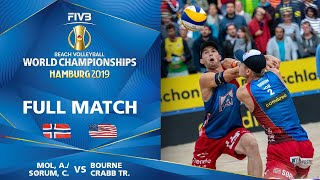 Mol/Sorum vs. Bourne/Crabb - Bronze Medal Match | Beach Volleyball World Champs Hamburg 2019