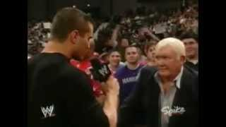 WWE RAW 2004 - Randy Orton And Harley Race Segment