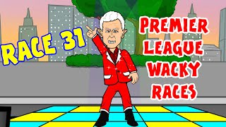 🚦RACE 31🚦 Premier League Wacky Races! (Man City vs Man Utd 0-1, Newcastle vs Sunderland 1-1)