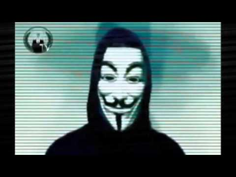 Anonymous- Warns UK citizens of Islamic invasion