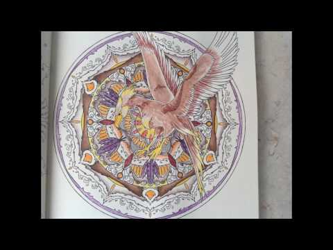 tutorial-harry-potter-magical-creatures-coloring-book:-the-phoenix