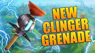 NEW STICKY GRENADE! // New Fortnite Update // Fortnite Battle Royale Gameplay