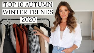 10 AUTUMN WINTER TRENDS 2020 | TOP TEN WEARABLE FASHION TRENDS & HOW TO STYLE THEM