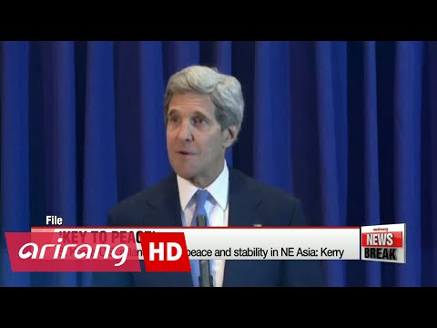 Kerry says U.S.-S. Korea alliance brings peace in Northeast Asia