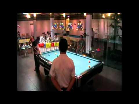 Bảo Bình Club: Trận chung kết giải pool 9 bi T11/2011 (Phương Thảo - Duy Kiên : 9 - 4)