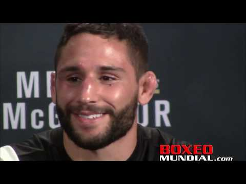 Chad Mendes talks about his loss to Conor Mcgregor on UFC 189