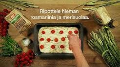 Dennis Focaccia-leipä resepti