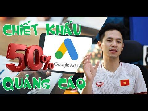 Nhận Chiết Khấu Google Ads Tiết Kiệm Chi Phí Quảng Cáo