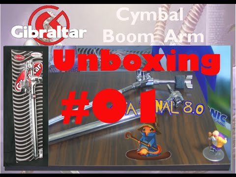 Gibraltar - Cymbal Stand Boom Arm - ( Unboxing 01# ) ---- [
