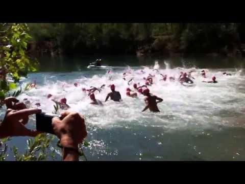 Départ du championnat de France de triathlon universitaire 2012 thumbnail