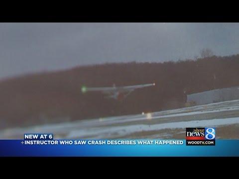 "Flight instructor records crash: 'Oh, my God, no."""