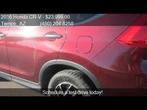 2016 Honda CR-V SE 4dr SUV for sale in Tempe, AZ 85281 at Ba