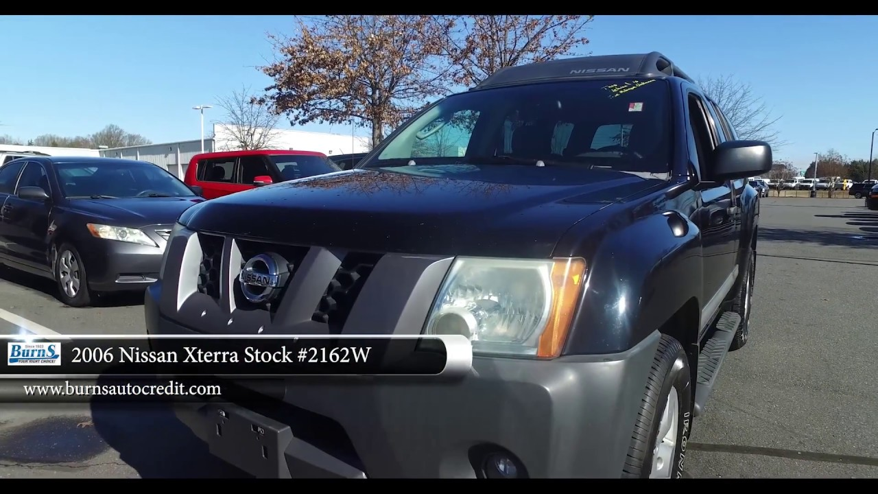 2006 Nissan Xterra Stock 2162w Burns Buy Here Pay Here