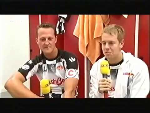 F1 Nürburgring 2009 - Vettel/Schumacher-Interview (RTL)