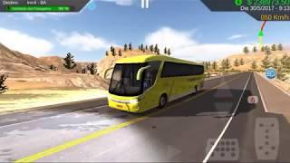 Heavy Bus Simulator viagem rumo a irece, saida Curitiba veiculo G7 1050