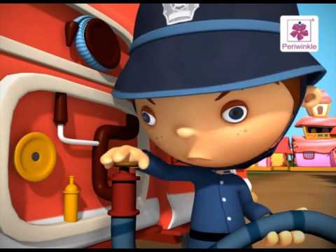 Ten Little Firemen  3D English Nursery Rhyme for Children  Periwinkle  Rhyme #89