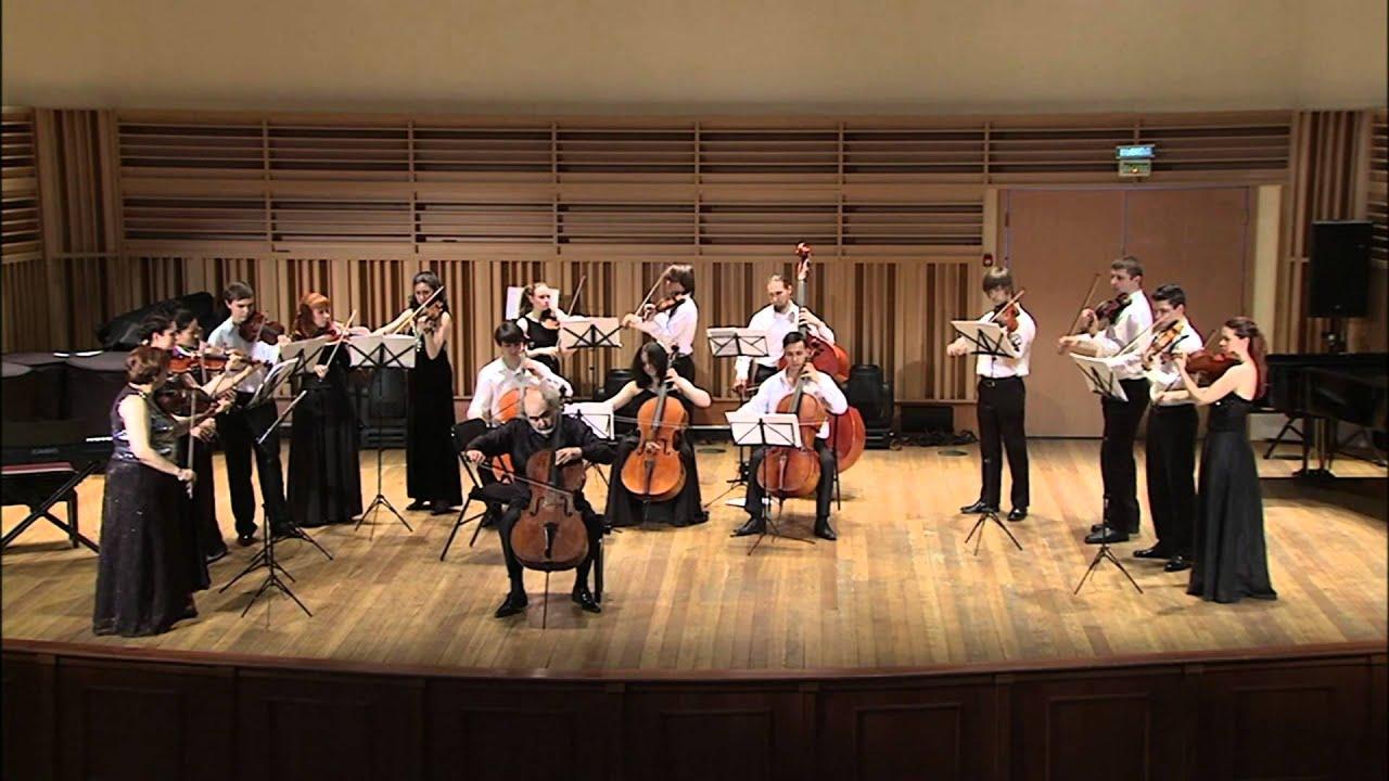 Mark Drobinsky, Haydn cello concerto in C