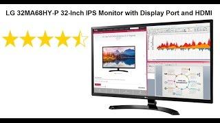 LG 32MA68HY-P 32-Inch IPS Monitor