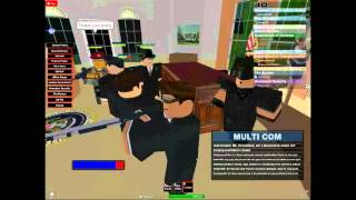 Assassinating the President of the group on roblox