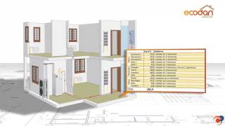 Software de simulación avanzada ECODAN para cálculo en vivienda con radiadores