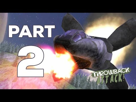 Halo: Combat Evolved (Legendary Difficulty) Part 2 | HALO (Throwback Attack)