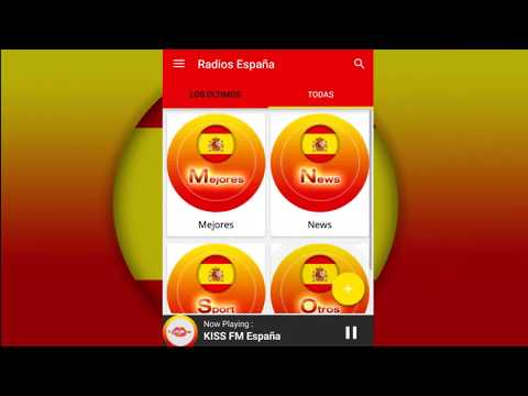 Radios España Android App Promoción Video
