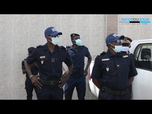 Abdoulaye Diouf Sarr en visite dans les cités religieuses a Thiès