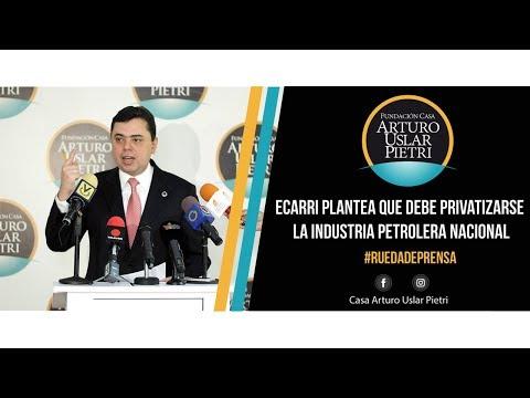 ¡Maduro liquidó PDVSA! Ecarri plantea que debe privatizarse la industria petrolera nacional