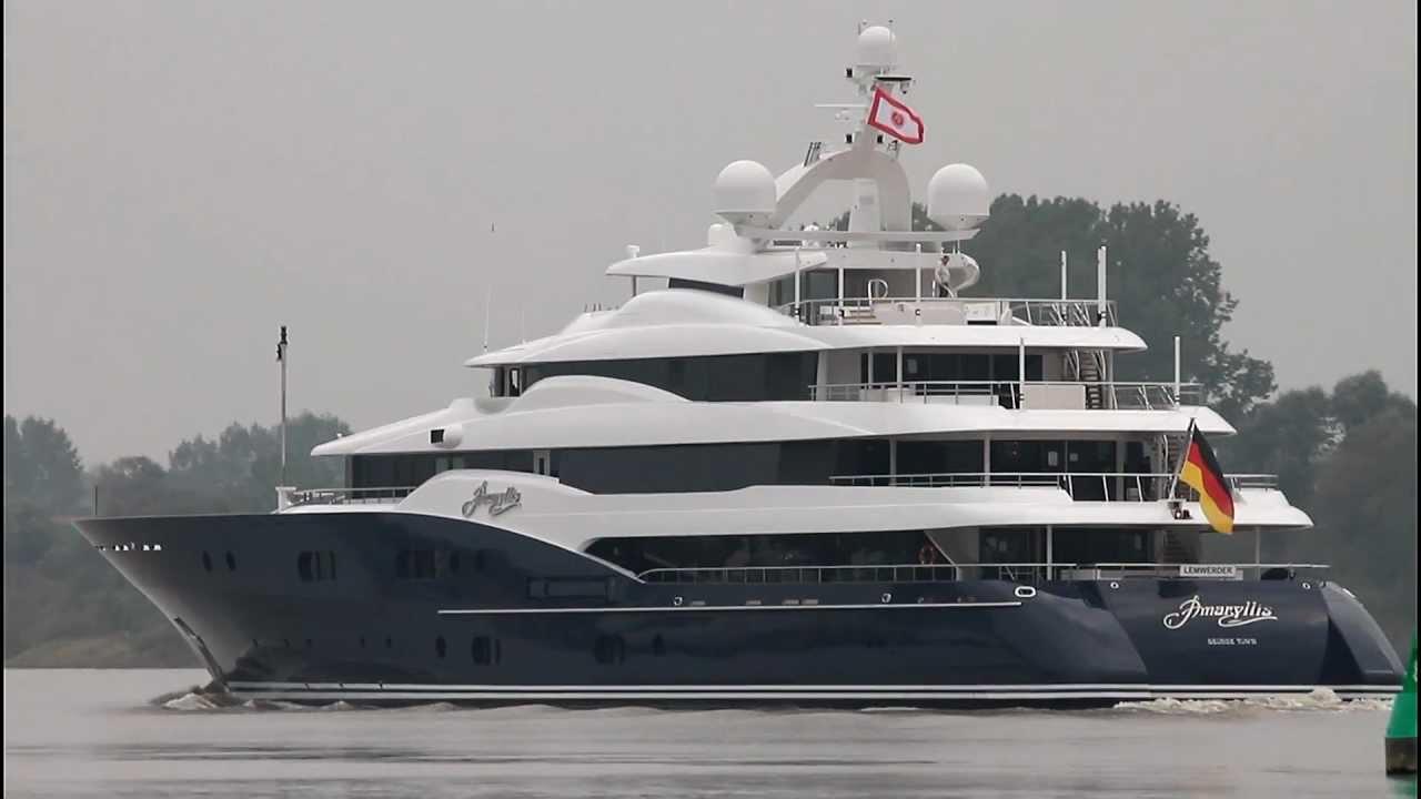 Amaryllis Yacht Video 78m Luxury Motor Yacht For Charter