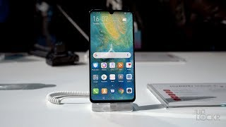 Huawei Shows Us the Mate 20 X, Mate 20, & Mate 20 Pro!