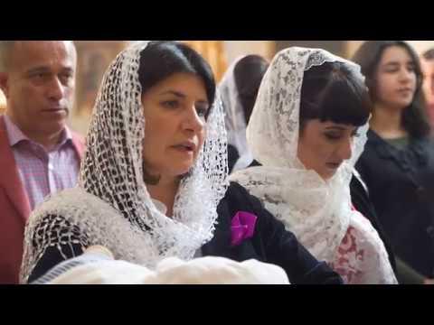 Крестины Даниэля (Крещение в Армянской церкви)