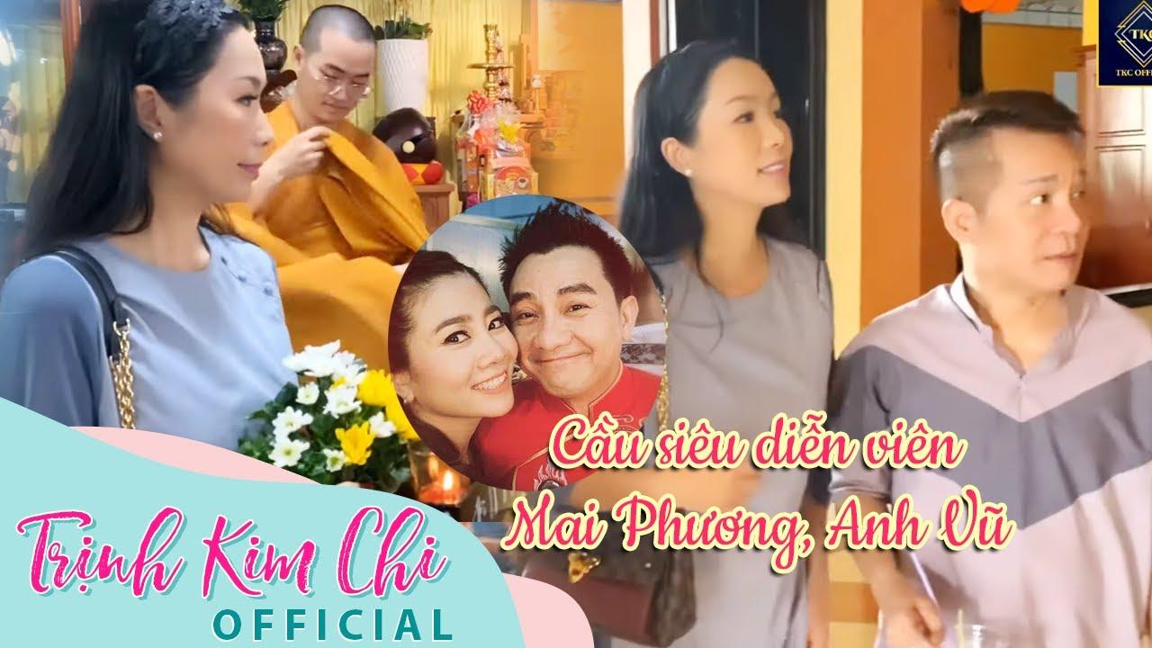 Lễ cầu siêu cho Mai Phương, Anh Vũ và nghệ nhân Thành Giao tại chùa Hưng Phước | Trịnh Kim Chi