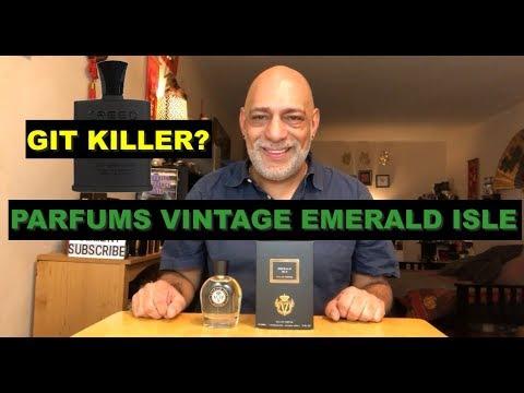 NEW Parfums Vintage Emerald Isle - GIT Killer? - Fragrance REVIEW + GIVEAWAY