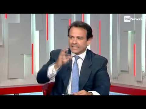 Marcello Minenna - Presentazione del libro 'La Moneta Incompiuta' a RaiNews24