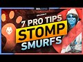 - 7 PRO TIPS to STOMP SMURFS on the ENEMY TEAM - Valorant Tips, Tricks, & Guide