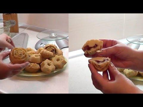 Как испечь кексы с начинкой быстро и просто