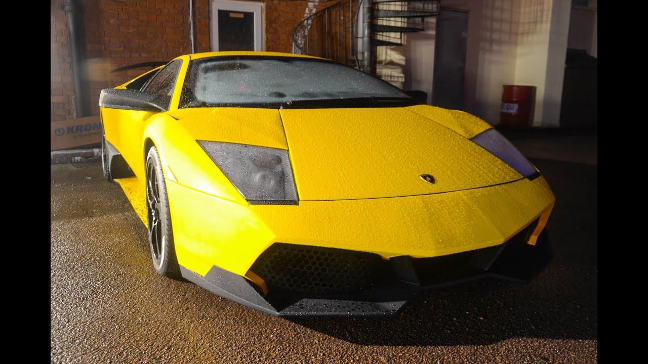 Tuned Lamborghini Murcielago Lp640 Sv Kit And Larini Exhaust Cold
