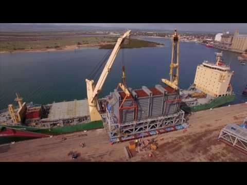 AAL Dampier - EPS Module in Port Pirie