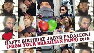 Baixar Happy Birthday Jared Padalecki (From your Brazilian fans) 2018