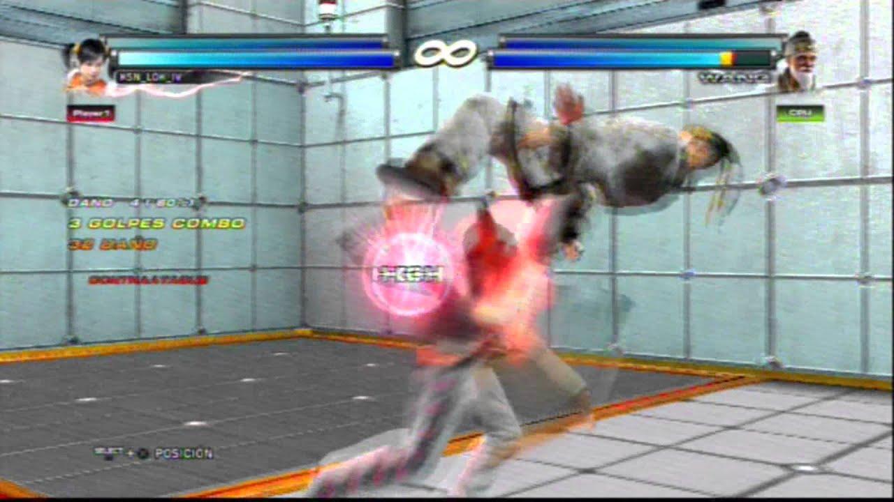 Tekken Tag Tournament 2 : Xiaoyu/Panda sample combo - YouTube