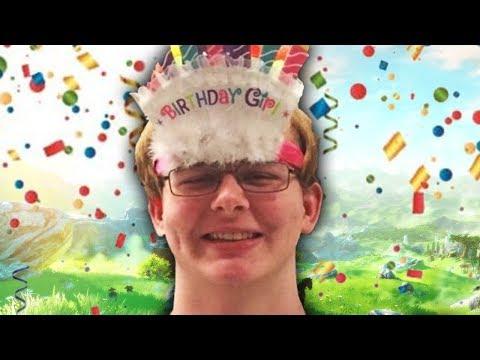 It Was My Birthday!