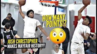 Josh Christopher Makes HISTORY In First HOME Game Of 2020!! Dior Johnson Lets It LOOSE!!