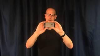 Att filma med mobilkamera
