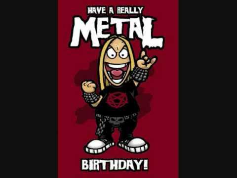 hqdefault happy birthday metal youtube